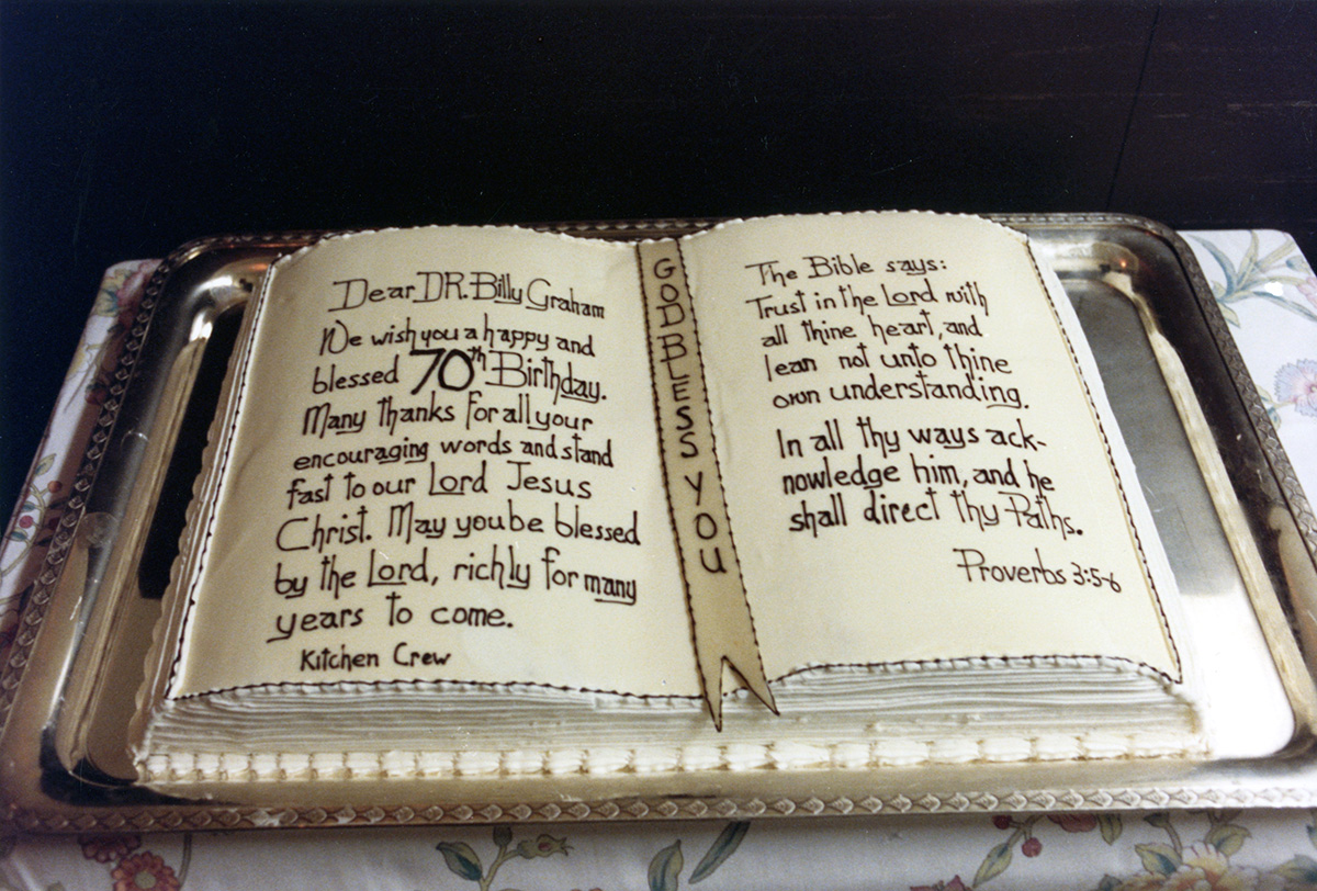 Happy Birthday Bible Cake To Billy