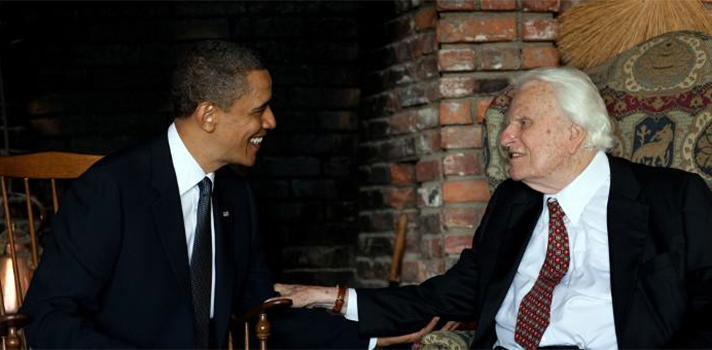 obama and billy graham
