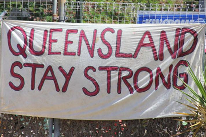 Queensland banner