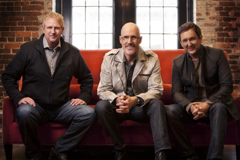 Trio among some really randy men