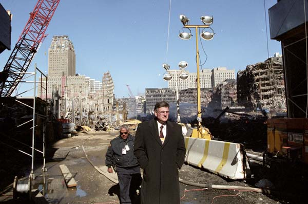 Franklin Graham at Ground Zero