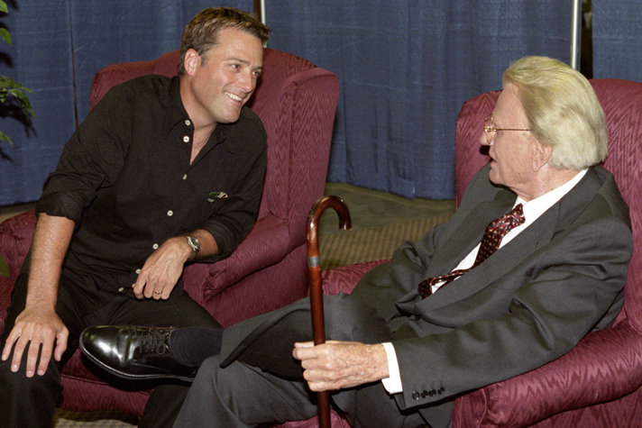 Michael W  Smith on Friendship with Billy Graham