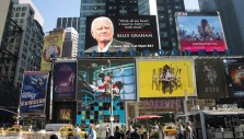 'My Hope' Billboard High Above Times Square