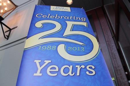 Cove anniversary banner
