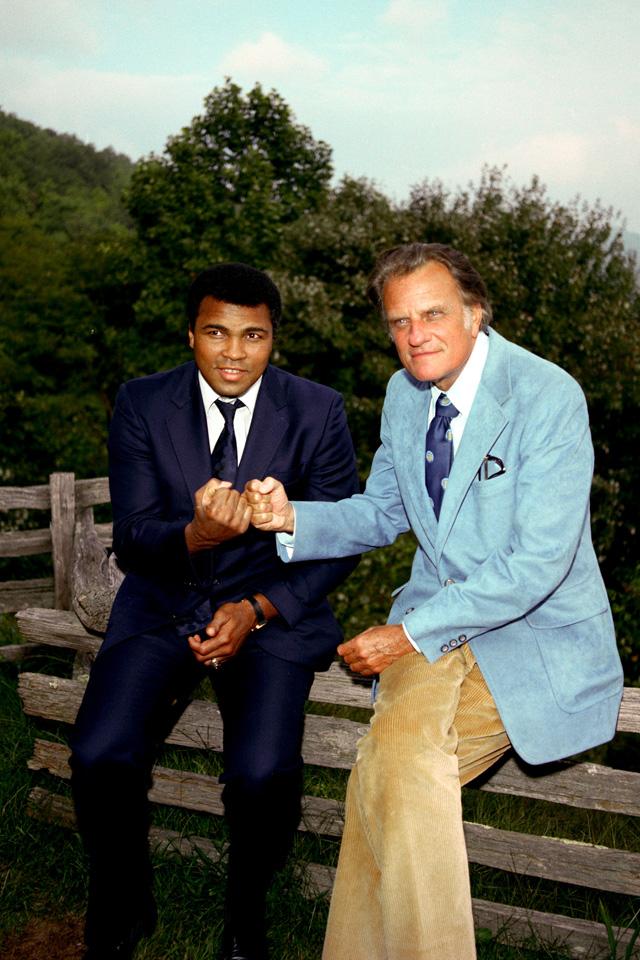 Muhammad Ali visit