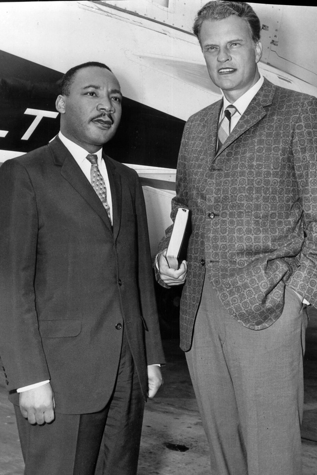 Billy Graham with MLK