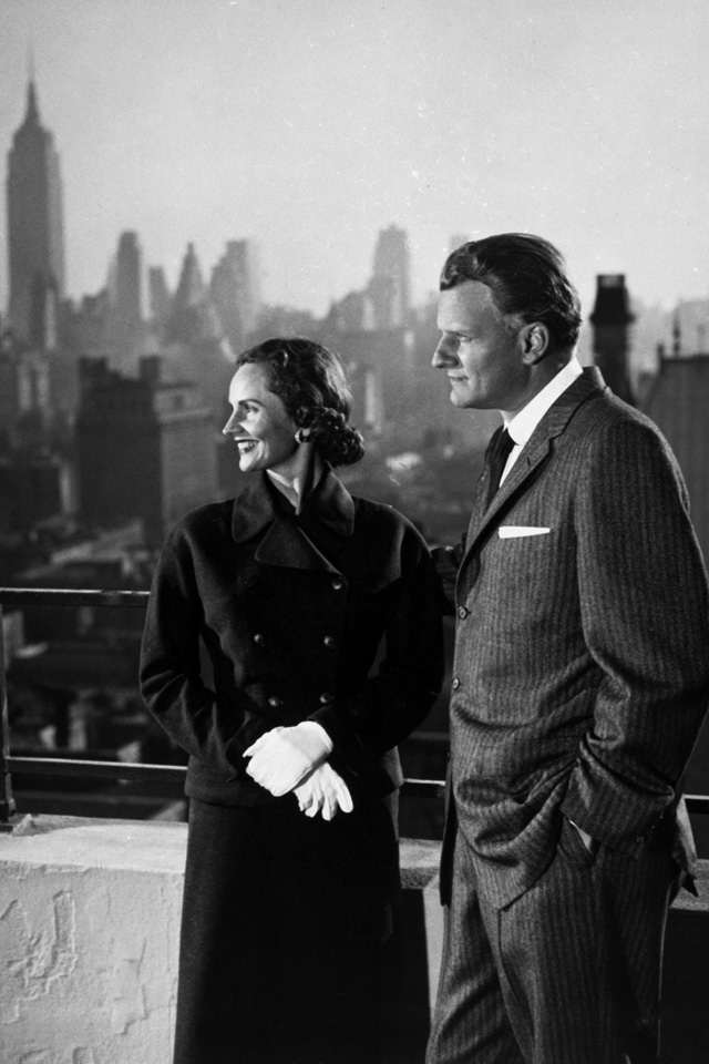 Billy and Ruth in New York