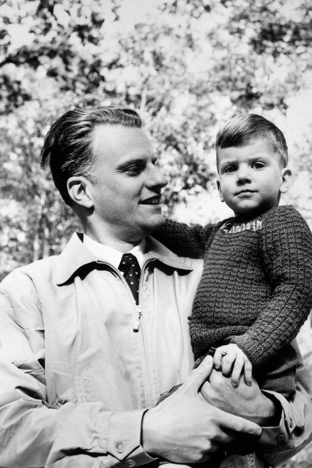 Billy and son, Franklin