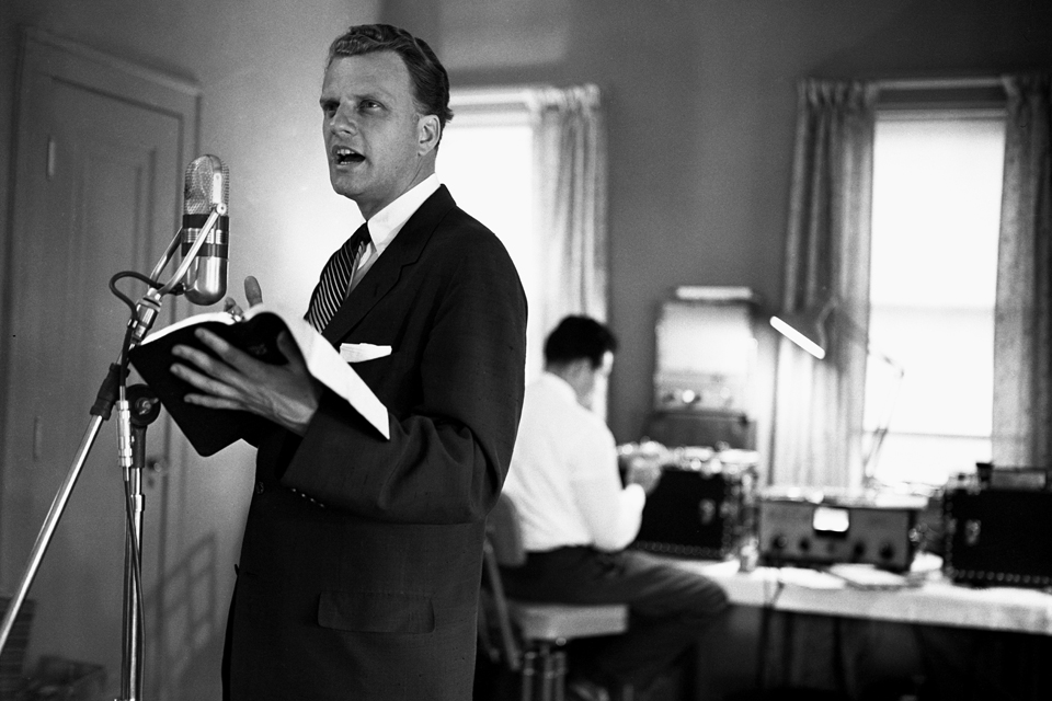 Billy Graham on radio