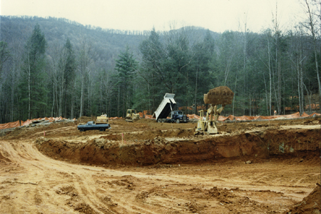 Cove construction