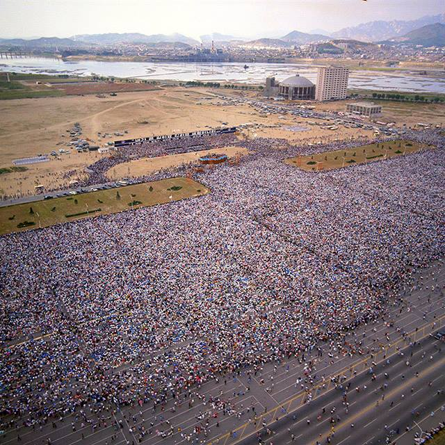 Billy Graham Crusade in Seoul, Korea - 1973