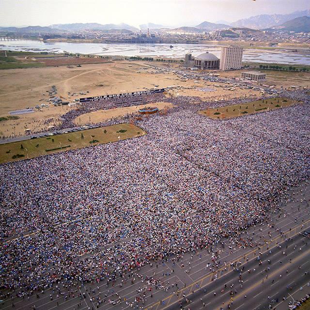 Billy Graham Crusade in Seoul, Korea - 1973