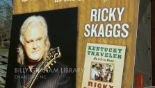 Ricky Skaggs visits the Billy Graham Library