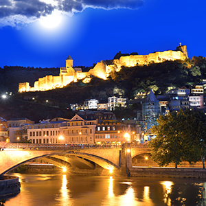 """Tbilisi, with a population of 1.5 million, is home to """"hundreds of churches,"""" but its evangelical population is less than 1 percent."""