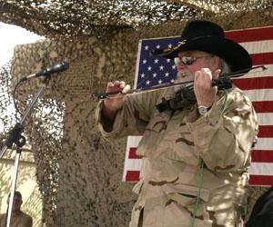 Charlie Daniels in Iraq