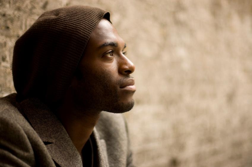 Man gazing