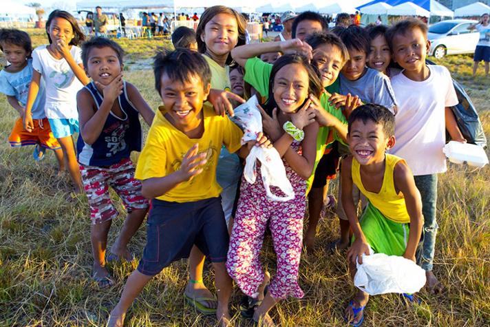 Cebu kids smiling