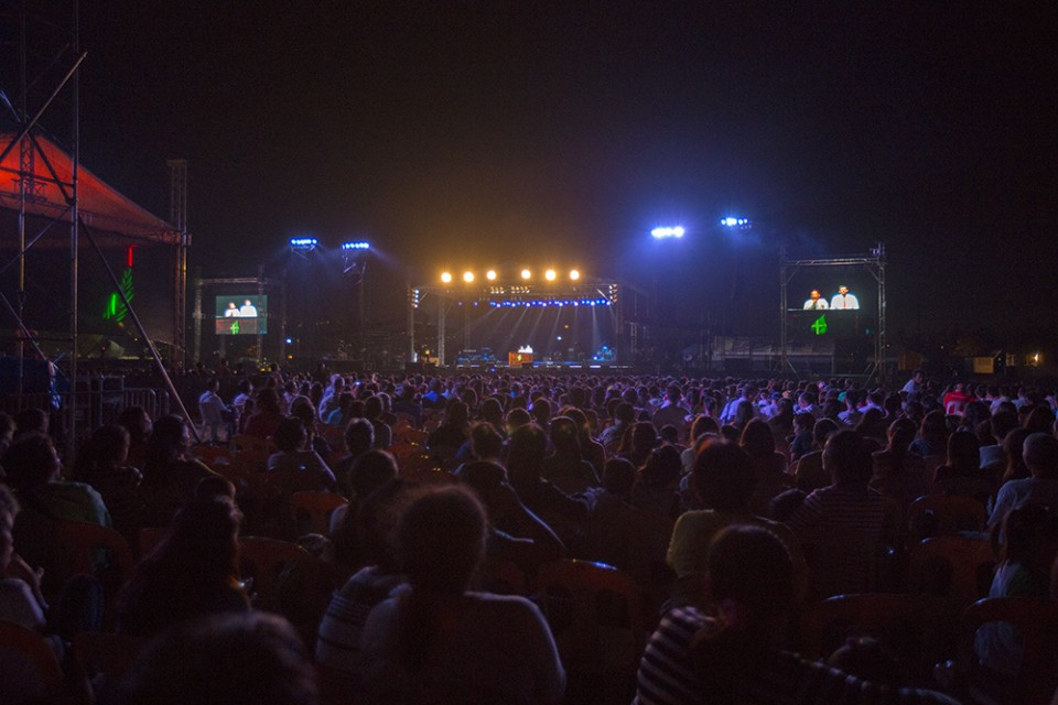 Crowd in Cebu