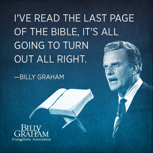 Billy Graham Quotes | 15 Quotes For An Anxious Heart