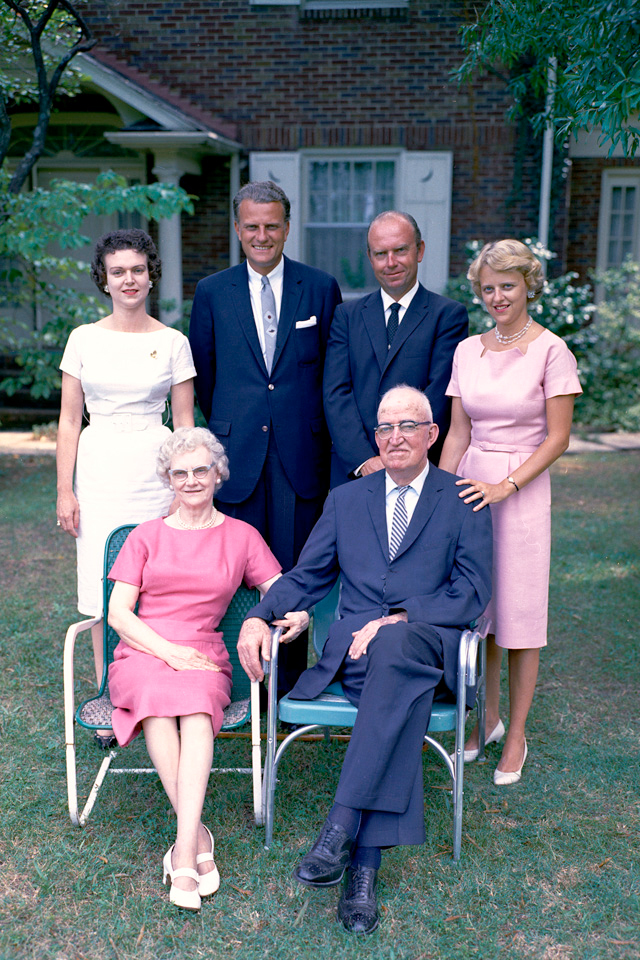 Billy Graham father and family