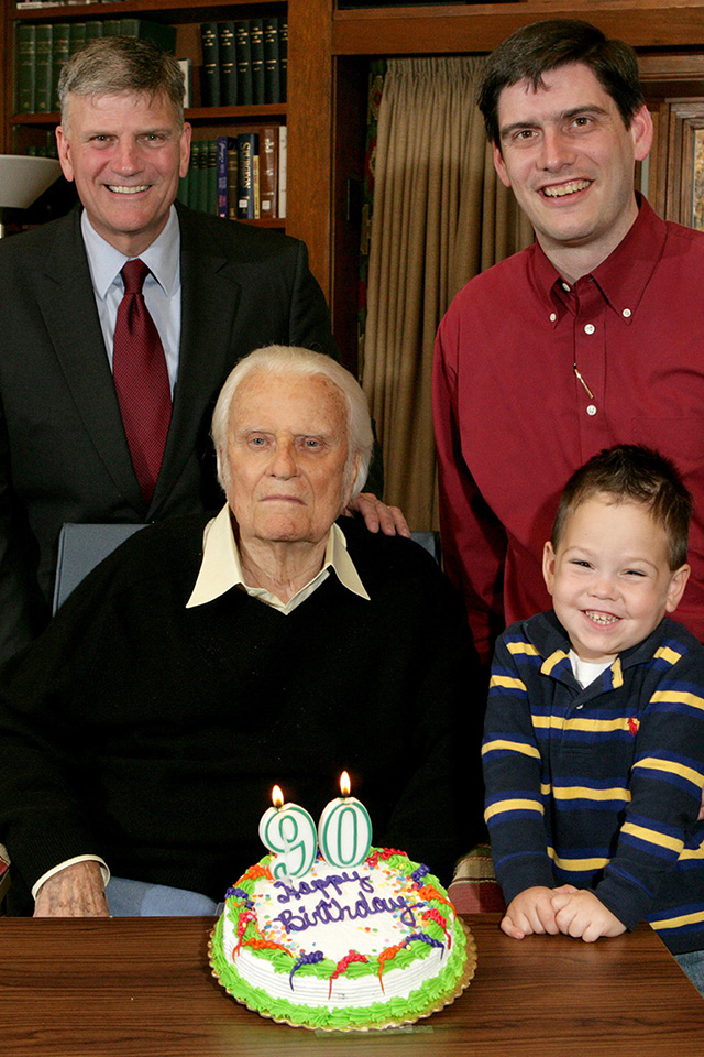 Billy Graham turns 90