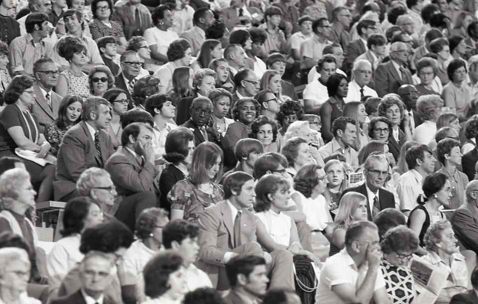 1972 Crowd