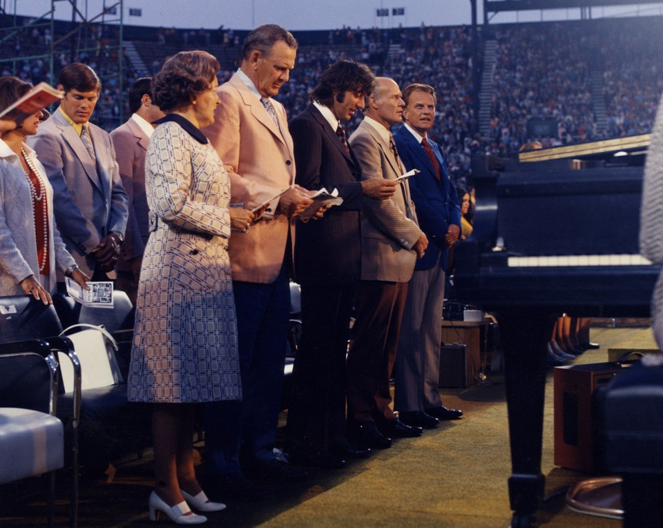 Billy Graham and friends