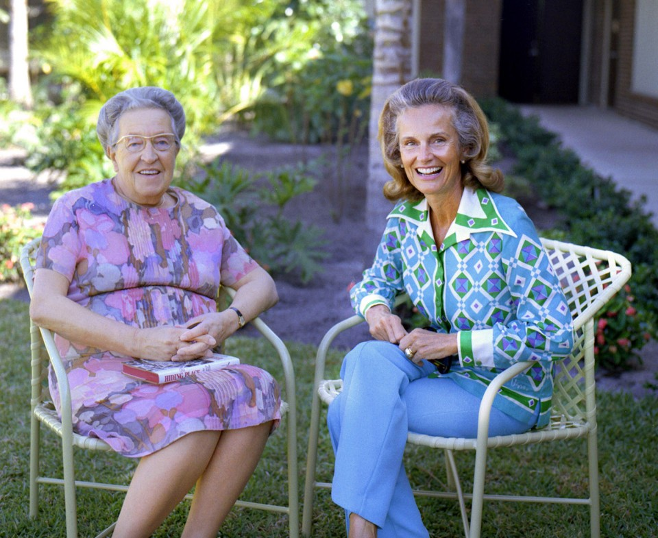 Ruth Bell Graham and Corrie ten Boom