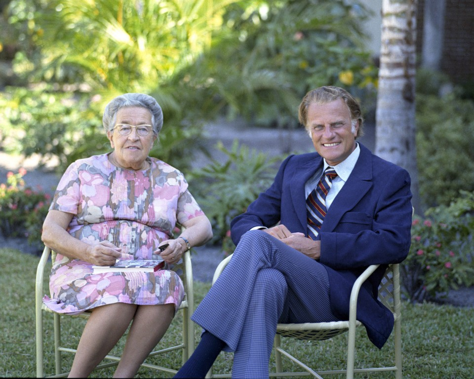 Billy Graham and Corrie ten Boom