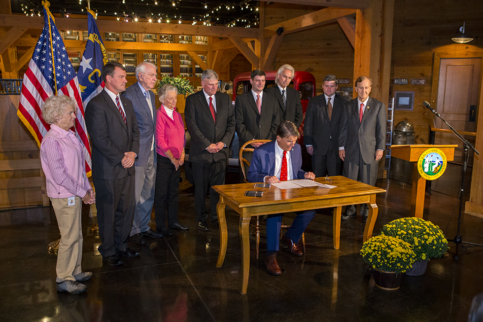 Graham family and legislators