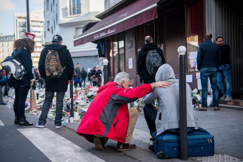 chaplain ministering in Paris