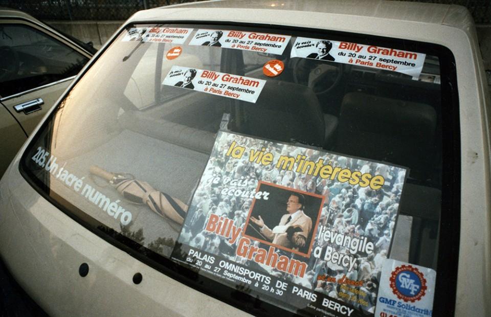 Billy Graham bumper stickers