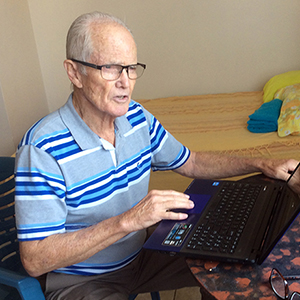 Retired doctor Bob Milton now lives in Ecuador and serves with the online Search for Jesus ministry.