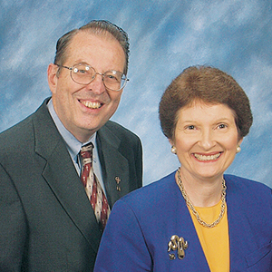 Tom and Phyllis Sanford serve in the Billy Graham TV Telephone Ministry in Savannah, Georgia.