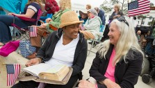 Franklin Graham Leads Unified Alabama Crowd in Prayer