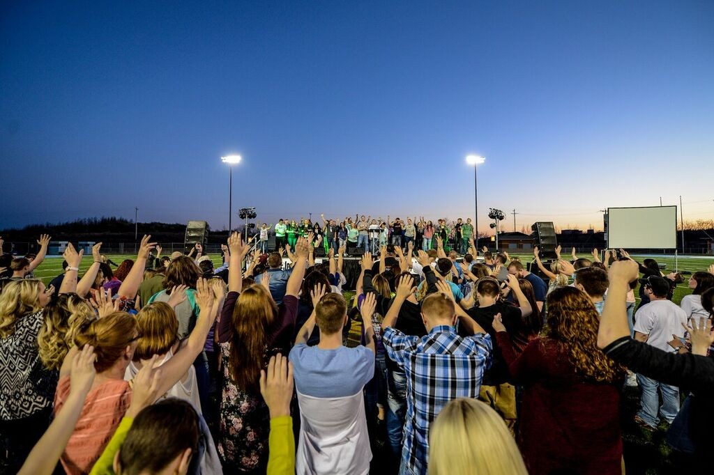 high school worship