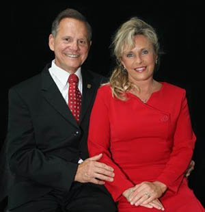 Roy Moore has been married to his wife, Kayla, for more than 30 years.