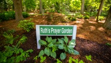 Newly Installed Prayer Garden in Honor of Ruth Bell Graham Dedicated at The Cove