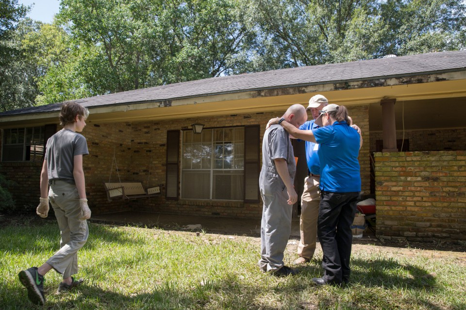 Bgea Chaplains Ministering In Flood Ravaged Baton Rouge