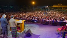 More Than 46,000 Flock to Franklin Graham Festival in Myanmar