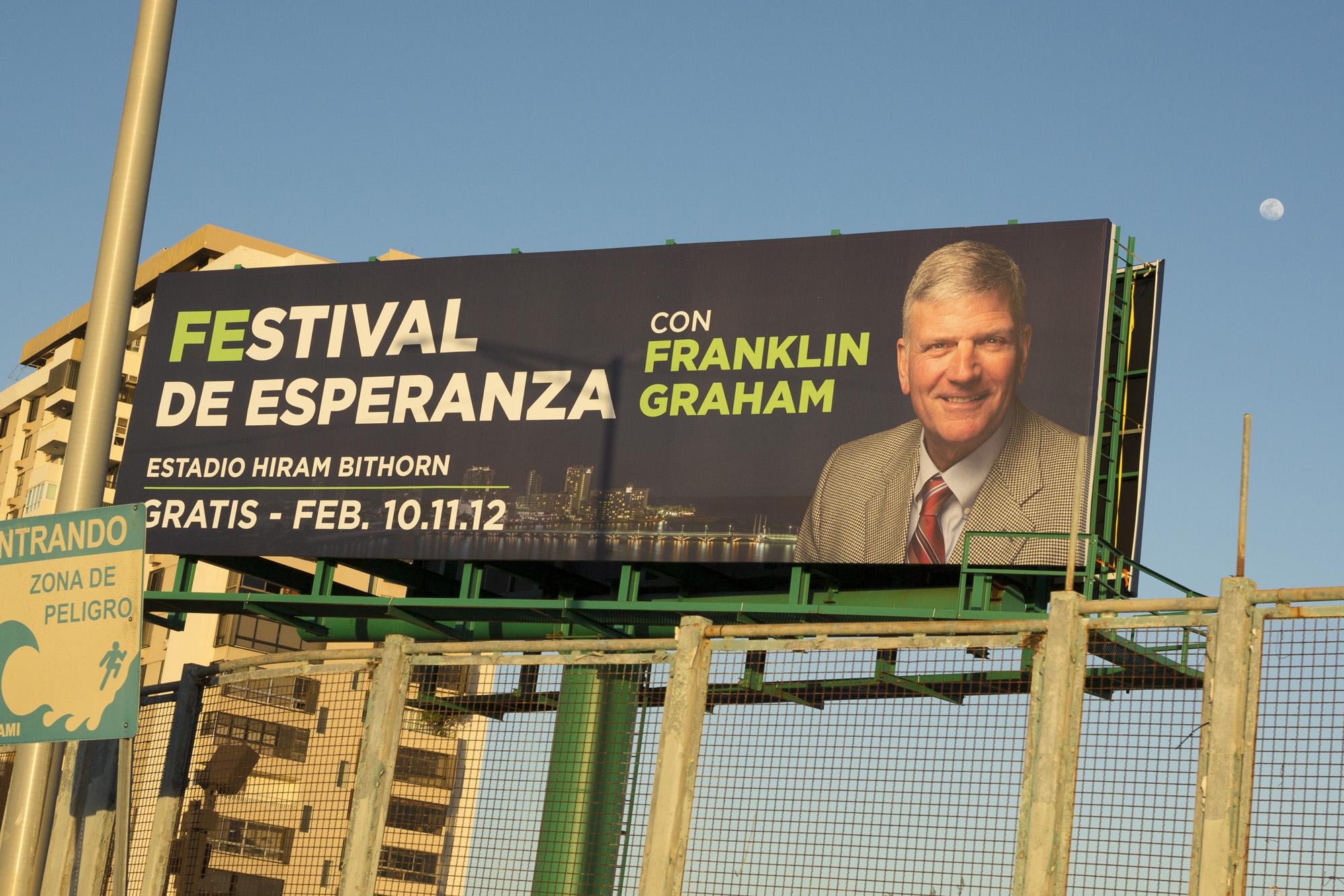Franklin Graham Festival San Juan Puerto Rico 2017