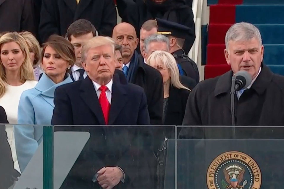 Image result for trump and bily graham