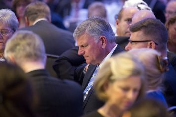 Franklin Graham at National Prayer breakfast 2017