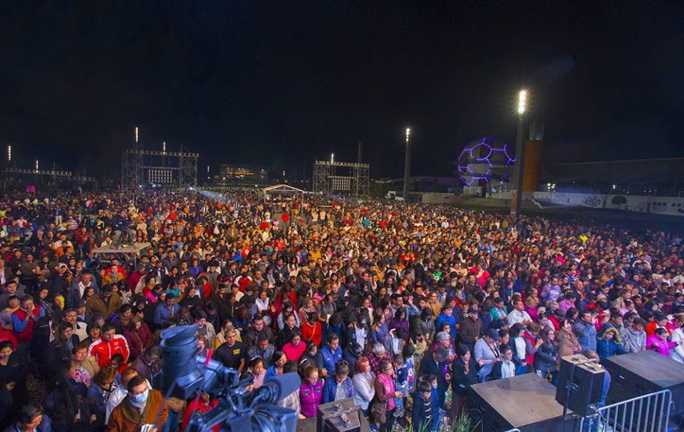 Large crowd at Celebration
