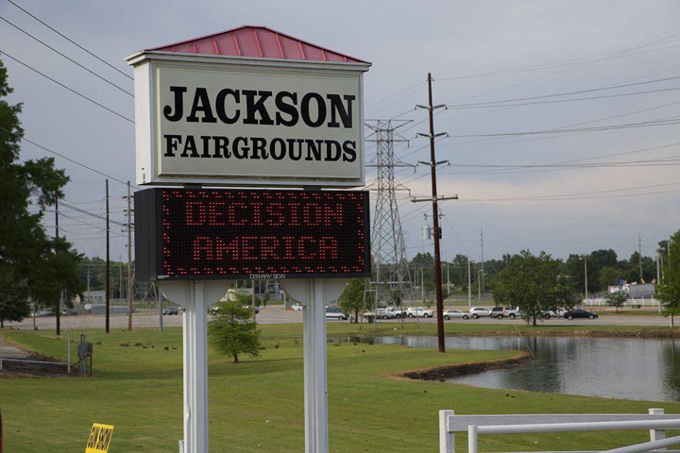 Jackson Fairgrounds sign