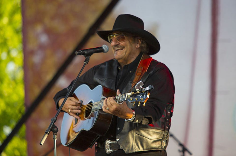Dennis Agajanian on stage