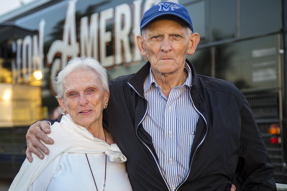 Paul Jeter and Sally Borchert