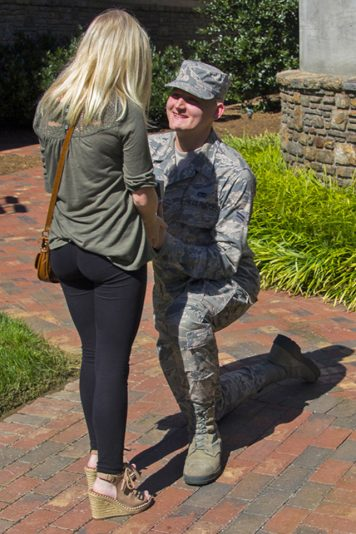 Marriage Proposal at Billy Graham Library Was 'Perfect Start'