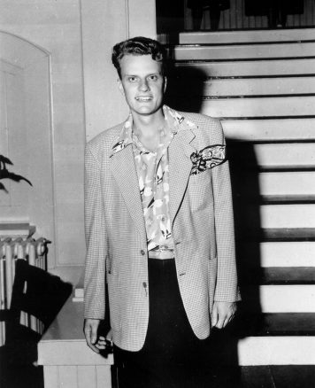 Billy Graham in younger years