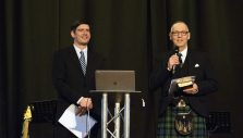 Will Graham Shares Vision for Central Scotland Celebration of Hope